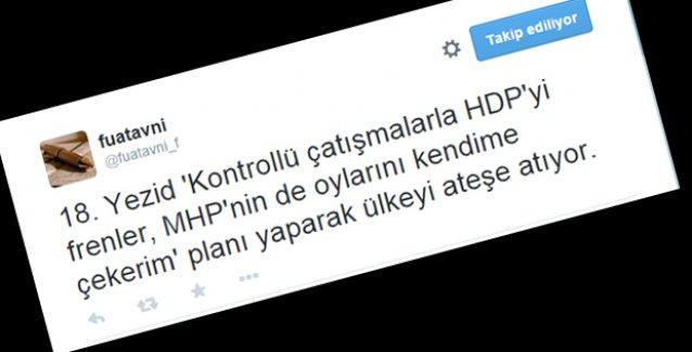 Fuat Avni: Ağrı'daki operasyonun amacı HDP'nin oylarını düşürmek