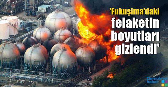 'Fukuşima'daki felaketin boyutları gizlendi'