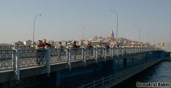 Galata Köprüsü bu gece kapalı