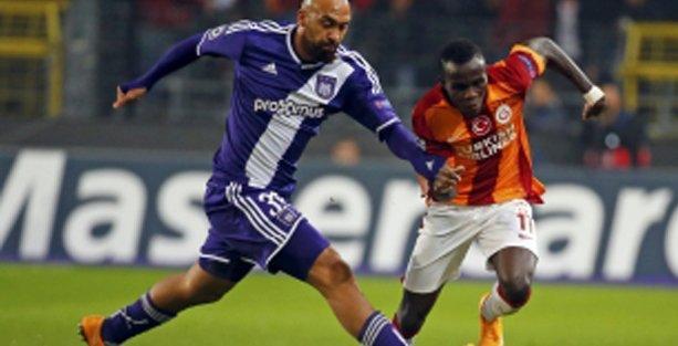 Galatasaray Anderlecht'e yenildi, Avrupa'ya veda etti