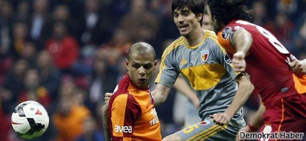 Galatasaray Kayserispor'a Arena'da çarpıldı