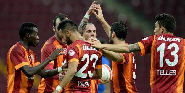 Galatasaray Kupa'da grubu lider bitirdi