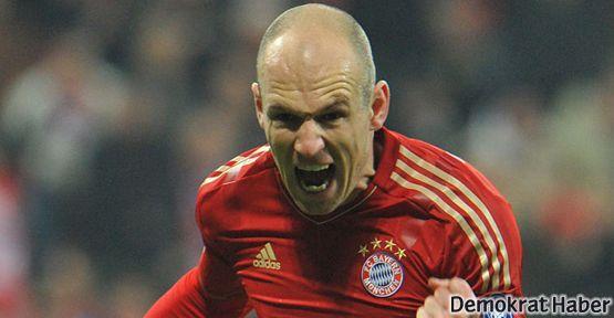 Galatasaray şimdi de Robben'le anılıyor