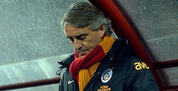Galatasaray'da Mancini dönemi sona erdi.