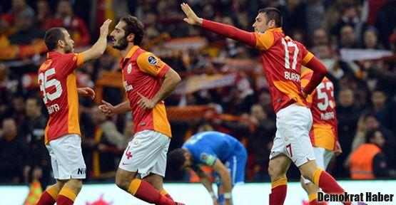 Galatasaray'ın zirve keyfi