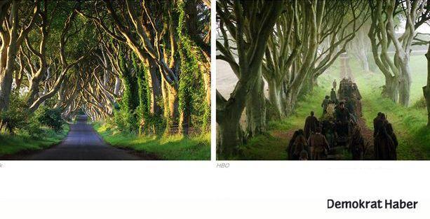Game of Thrones'taki mekanların büyülü gerçekliği