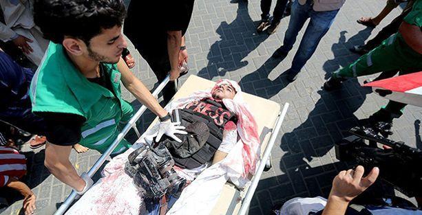 Gazze'de 'en az on gazeteci öldürüldü'