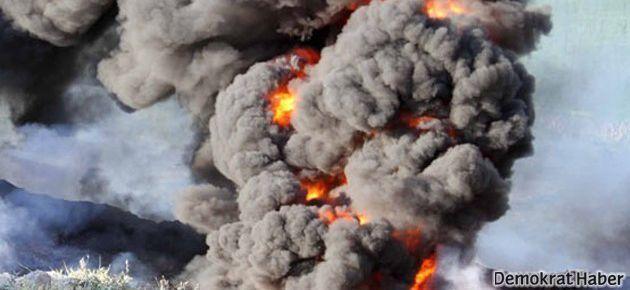 Gazze'de patlama: 6 çocuk ağır yaralı