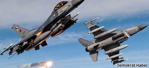 Genelkurmay'dan itiraf: 4 savaş uçağı bölgede uçuş yaptı!