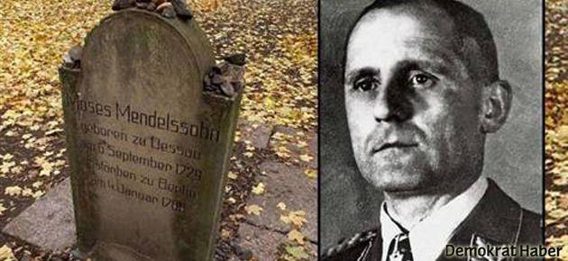 Gestapo şefi Yahudi mezarlığına gömülmüş
