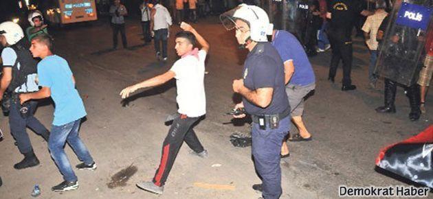 Adana'da direnişçileri polis ve AKP'liler birlikte taşladı