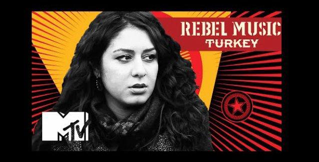 Gezi Direnişi dünyanın en büyük müzik kanalı MTV'de