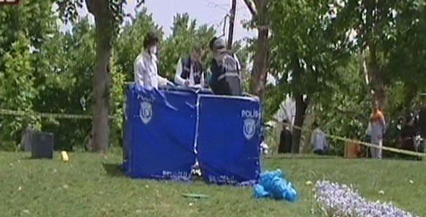 Gezi Parkı'nda erkek cesedi!