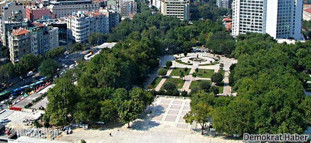 Gezi Parkı'nda yürütmeyi durdurma kaldırıldı!