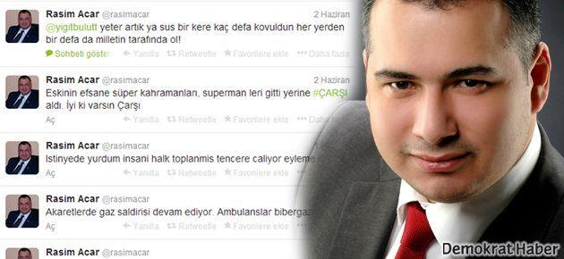 'Gezici' haberi çıktı, MHP adayı Twitter'da gizlendi