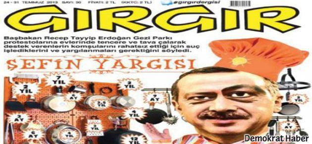 Gırgır'dan 'Milli Şef Erdoğan' kapağı