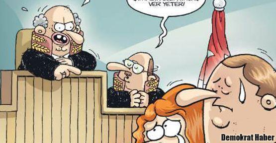 Gırgır'dan sert Yargıtay kapağı