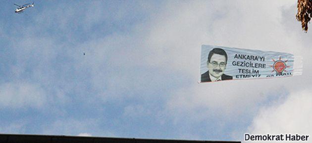 Gökçek: Ankara'yı Gezicilere teslim etmeyiz!