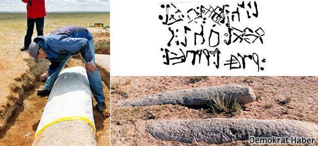 Göktürkler'e ait iki anıt gün yüzüne çıktı