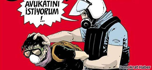 Gözaltına alınan avukatlar Uykusuz'da