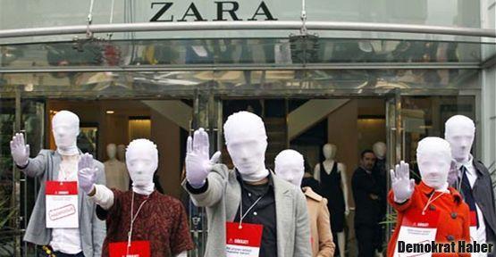 Greenpeace Zara ürünlerini protesto etti