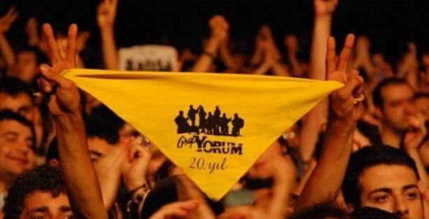 Grup Yorum'un İstanbul konserine getirilen yasak kaldırıldı