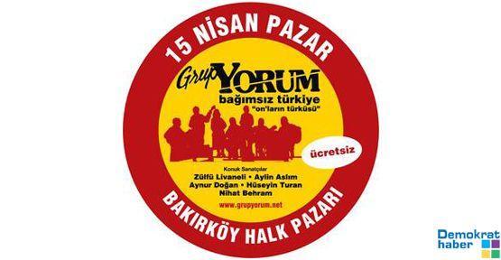 Grup Yorum'dan 2. Bağımsız Türkiye Konseri