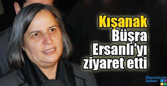 Gültan Kışanak Büşra Ersanlı'yı ziyaret etti