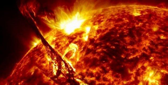 Güneş patlamalarından yeni görüntüler