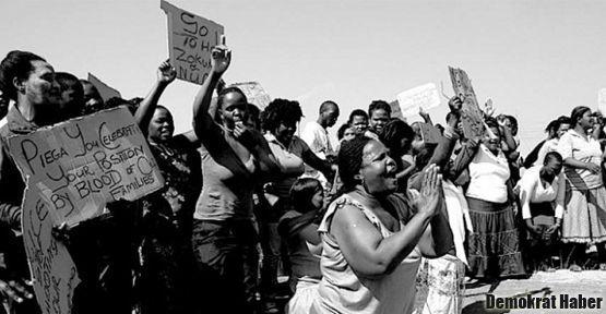 Güney Afrika'da grevler yayılabilir