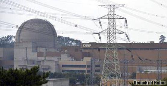 Güney Kore'de nükleer sızıntı