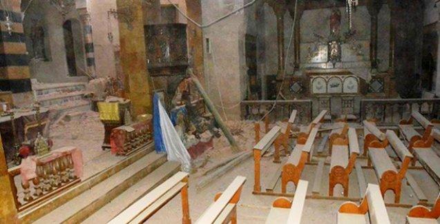 Halep'teki Ermeni kilisesine roketli saldırı