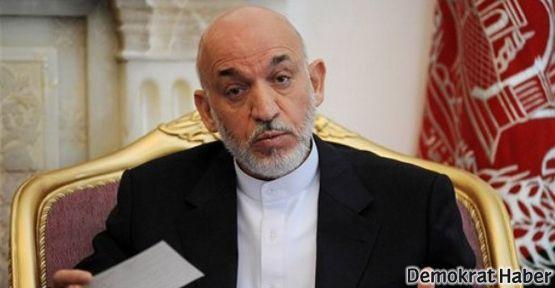 Hamid Karzai: Taliban ABD'ye çalışıyor