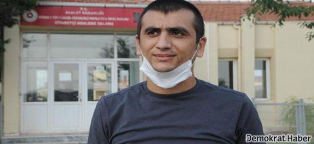 Hasta tutuklu Kemal Avcı tahliye edildi