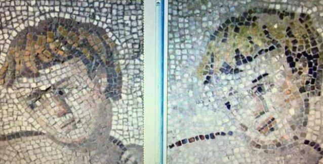 Hatay Arkeoloji Müzesi'nde restorasyon skandalı: Roma mozaiklerini mahvettiler!
