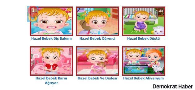 Hazel Bebek Oyunlar1'in Konuğu