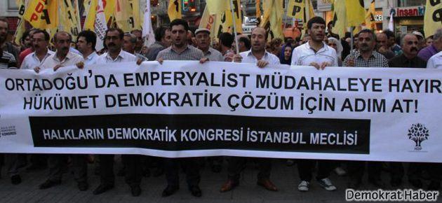 HDK: Suriye'ye müdahaleye hayır!