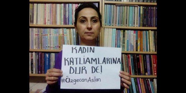 HDP Eş Başkanı Yüksekdağ'dan #ÖzgecanAslan mesajı