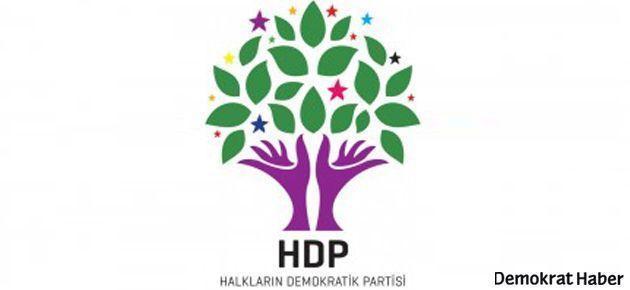 HDP Genel Merkezi'ne taşlı saldırı