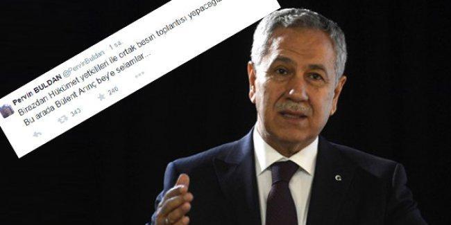 HDP'li Buldan neden 'ortak açıklama'yla beraber 'Arınç'a selam' yolladı?