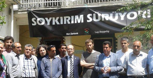 HDP'li Dora Kamp Armen'i ziyaret etti: Kamulaştırma çözüm değil
