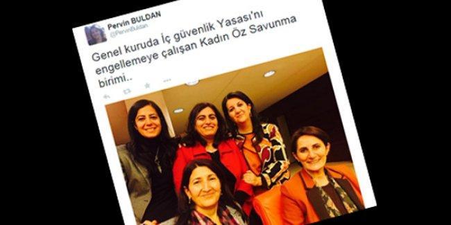HDP'li vekillerden 'direniş selfiesi': Meclis'teki 'Kadın Öz Savunma Birimi'