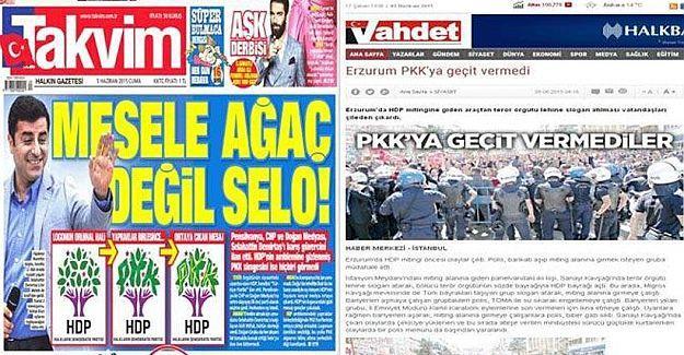 HDP logosunda gizli 'PKK' yazısı varmış, gördünüz mü?