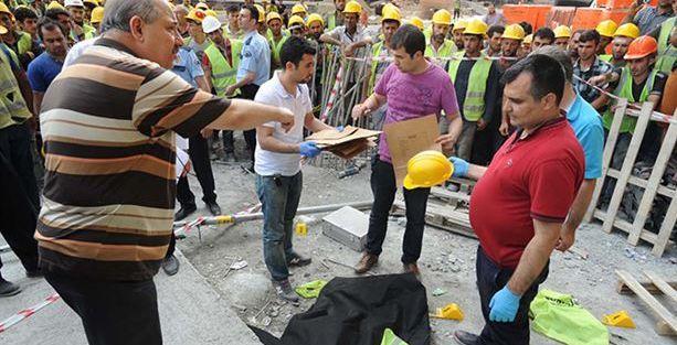 HDP,  Maslak 1453 inşaatındaki işçi ölümünü meclise taşıdı