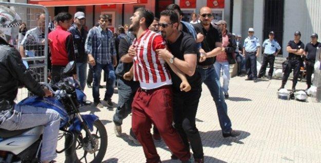 HDP'nin Samsun'daki mitingine saldırı girişimi: 10 kişi gözaltına alındı