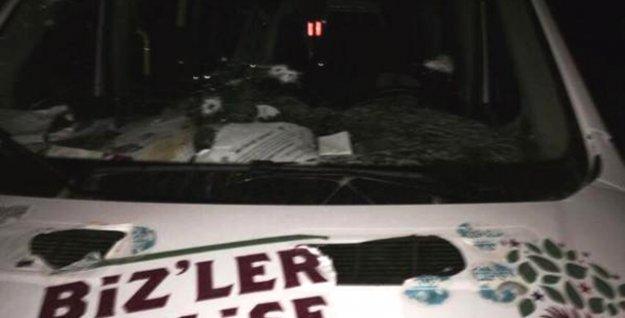 HDP seçim aracına silahlı saldırı: 1 kişi hayatını kaybetti!
