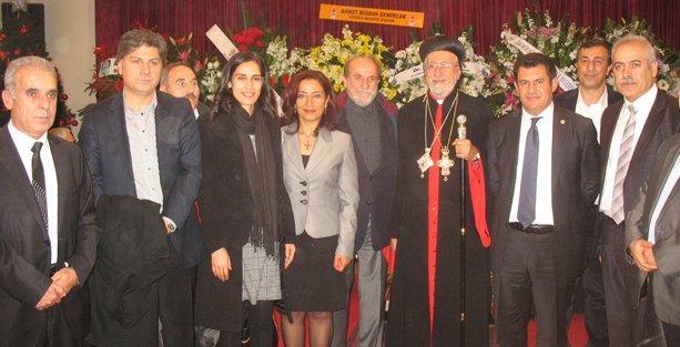 HDP'den Noel Bayramı ziyareti