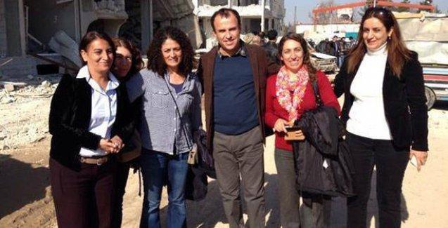 HDP'li vekiller Kobani'de