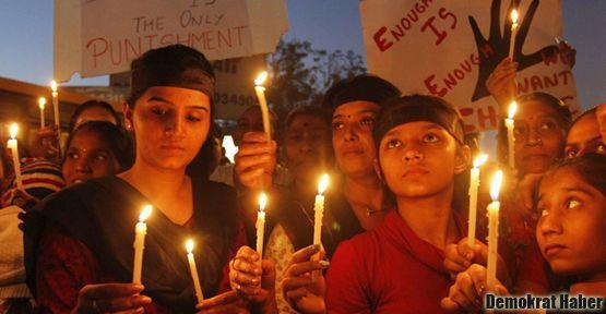Hindistan'da 20 dakikada bir tecavüz vakası oluyor