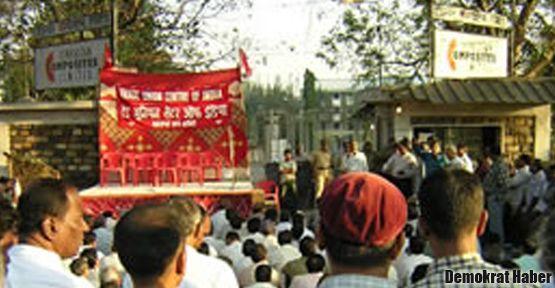 Hindistan'da yıkımlara karşı direniş